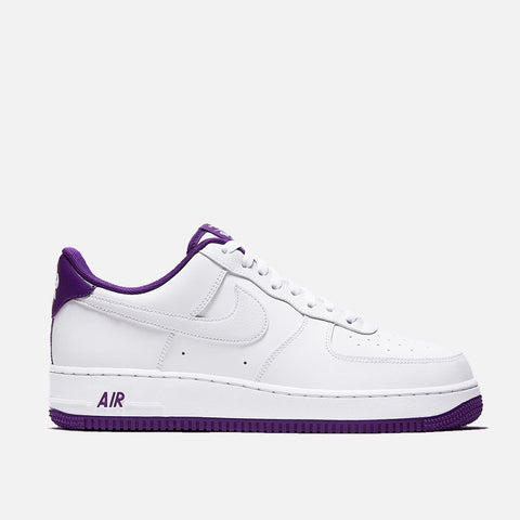 AIR FORCE 1 `07 2 - WHITE / COURT PURPLE