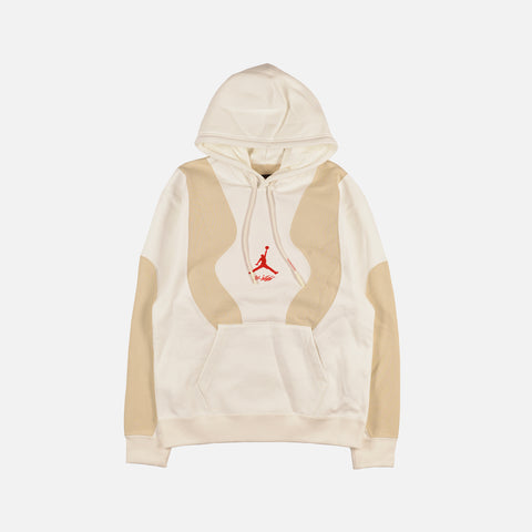 "OFF WHITE X AIR JORDAN HOODIE ""SAIL"""