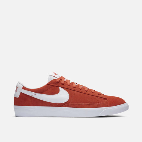 BLAZER LOW SUEDE - MANTRA ORANGE