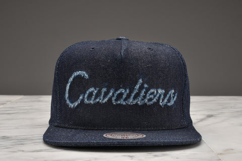"LAPSTONE & HAMMER x MITCHELL & NESS ""DESTRUCTED DENIM"" - CAVS SCRIPT"