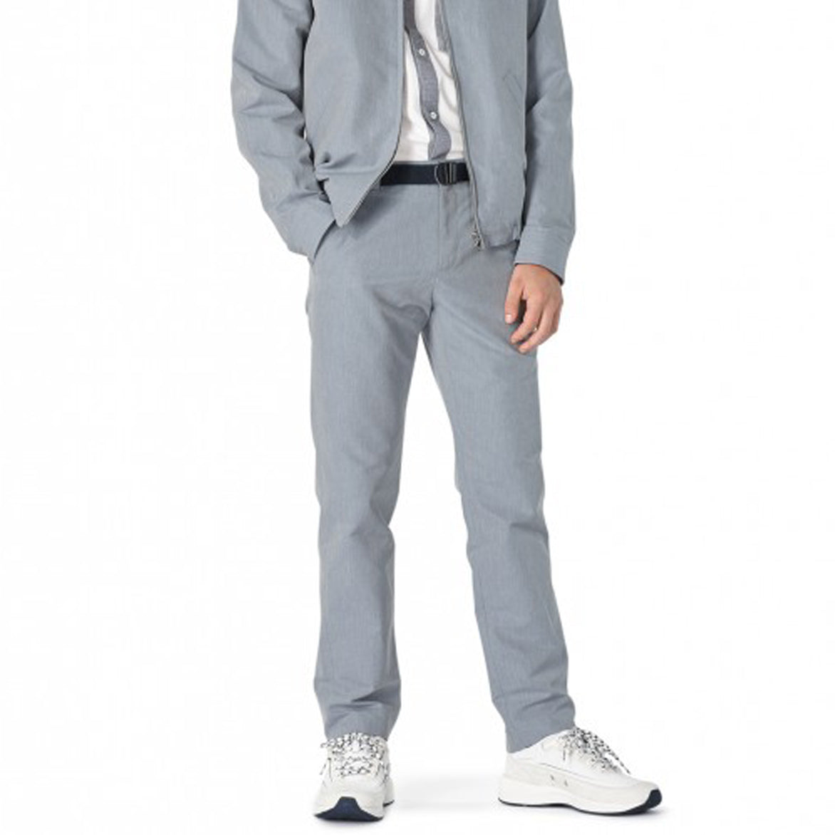 CLINT CHINOS - BLUE GREY