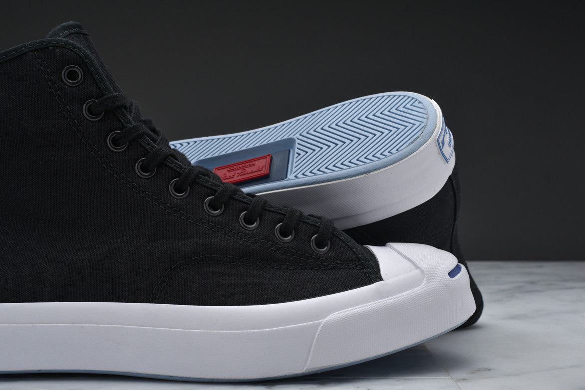JACK PURCELL SIGNATURE DUCK CANVAS HI - BLACK
