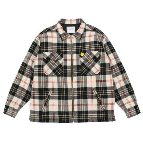 CROWN JACKET - TARTAN PLAID