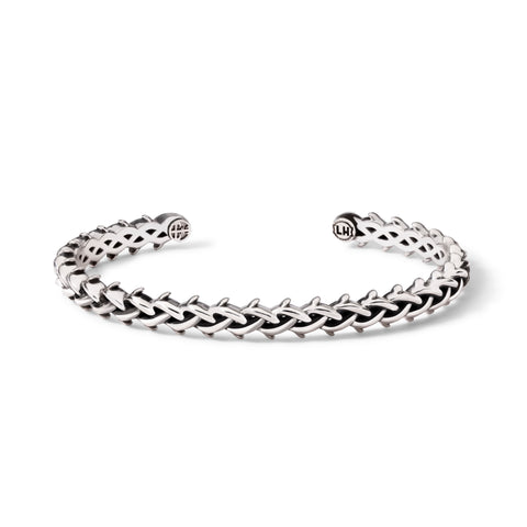 LAPSTONE x THORN 7MM CROWN CUFF - SILVER