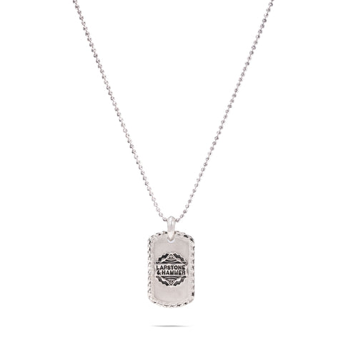 LAPSTONE x THORN DOG TAG - SILVER