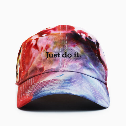 "LAPSTONE ""CORAL REEF"" DIP DYE HAT - JUST DO IT"
