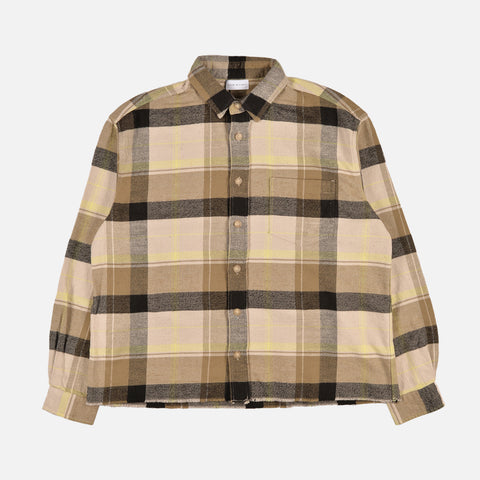 HEMI OVERSIZED SHIRT - CYCLONE CHECK