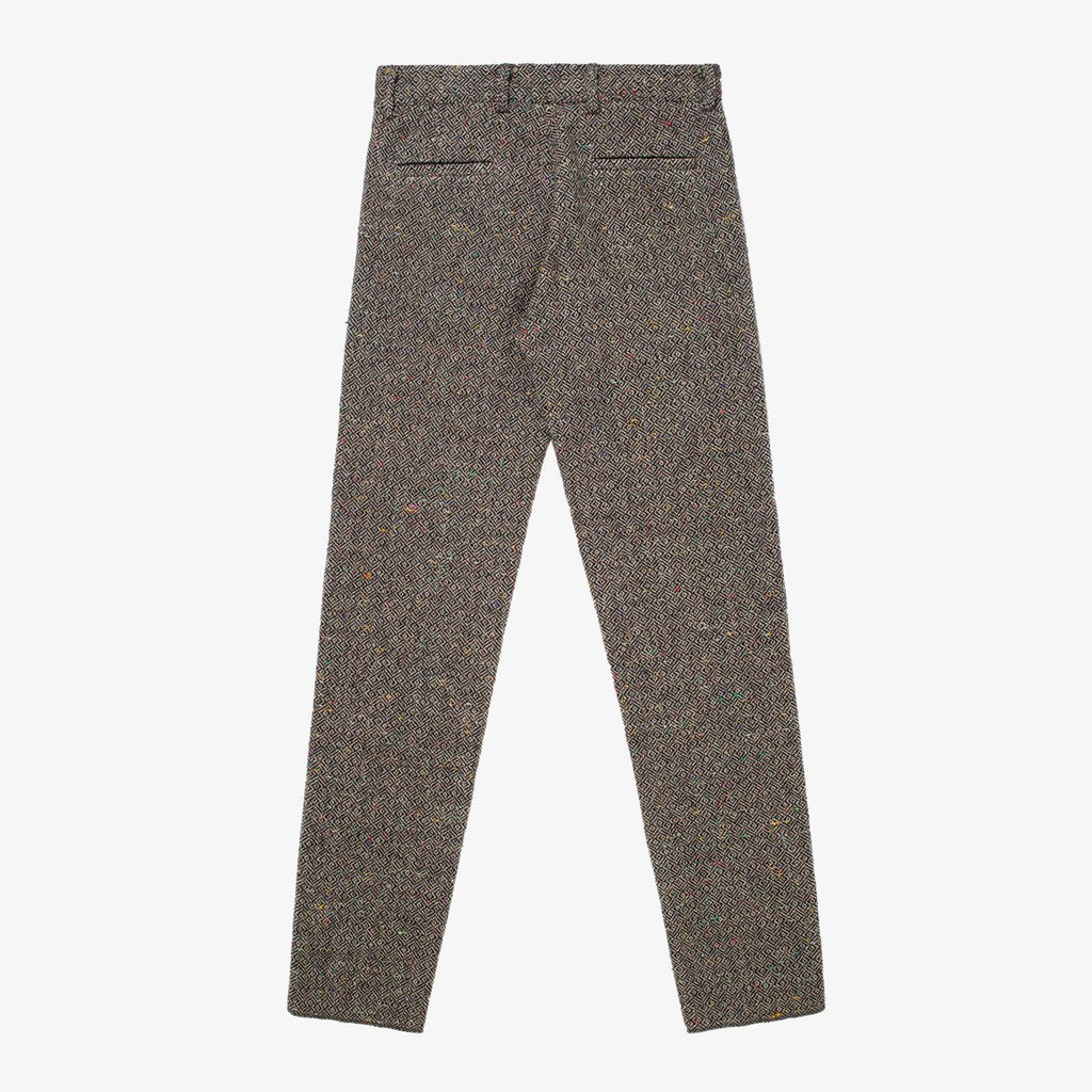 DONEGAL TWEED TROUSER - GREY