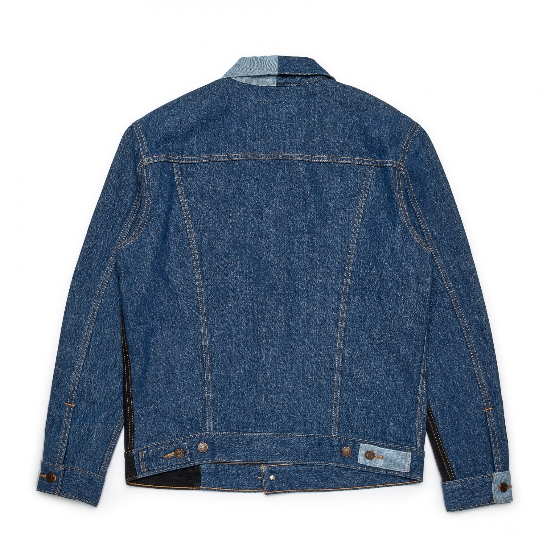 GOSHA X LEVIS JACKET PATCHWORK - DENIM