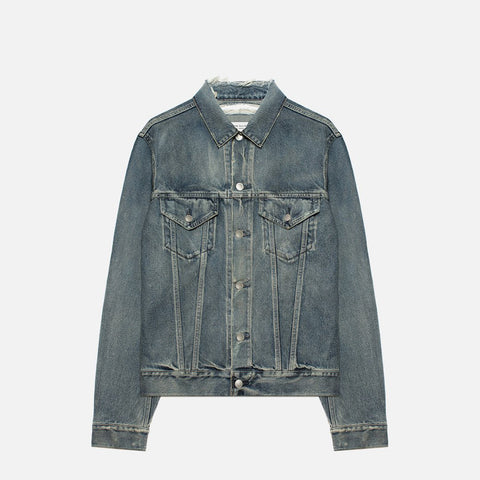 THUMPER JACKET TYPE III - WASHED INDIGO