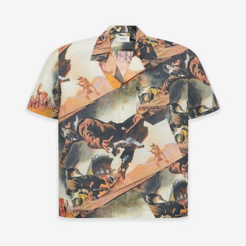 GUNSLINGER HAWAIIAN SHIRT - MULTI