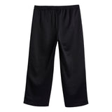 IVY PARK X ADIDAS WMNS 3-STRIPES SUIT PANT (PLUS SIZE) - BLACK / MESA