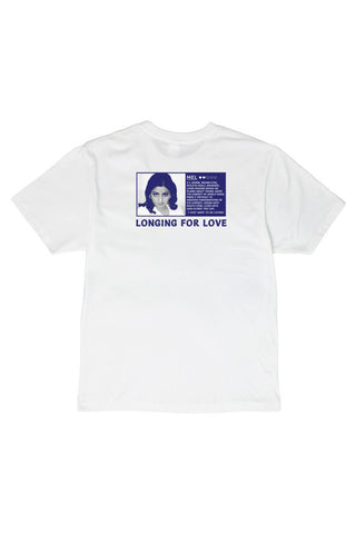 LONGING FOR LOVE T-SHIRT - WHITE