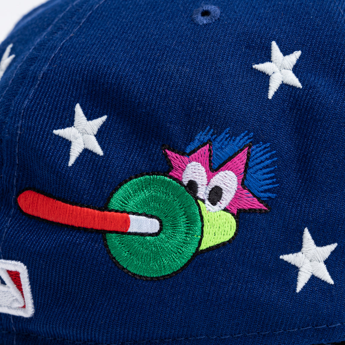 ARENA X 76ERS NEW ERA 5950 HAT - BLUE