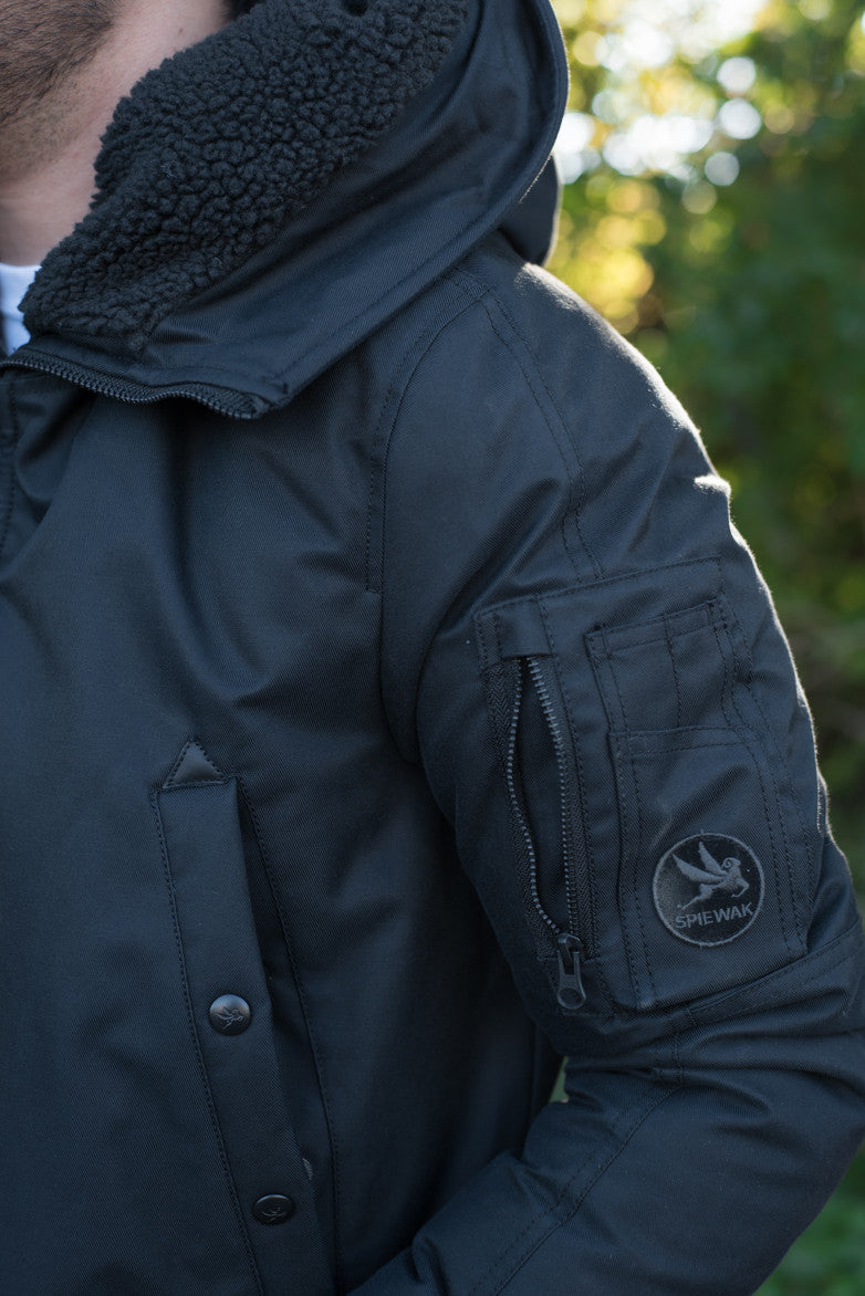 AVIATION SNORKEL PARKA TECH AVIATION CLOTH