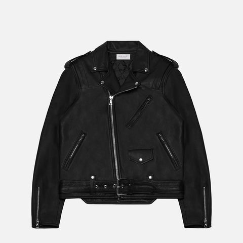 JOHN ELLIOTT X BLACKMEANS RIDER'S JACKET - BLACK