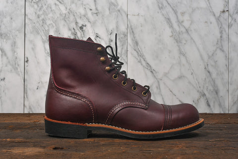 "6"" IRON RANGER LUG SOLE - OXBLOOD MESA"