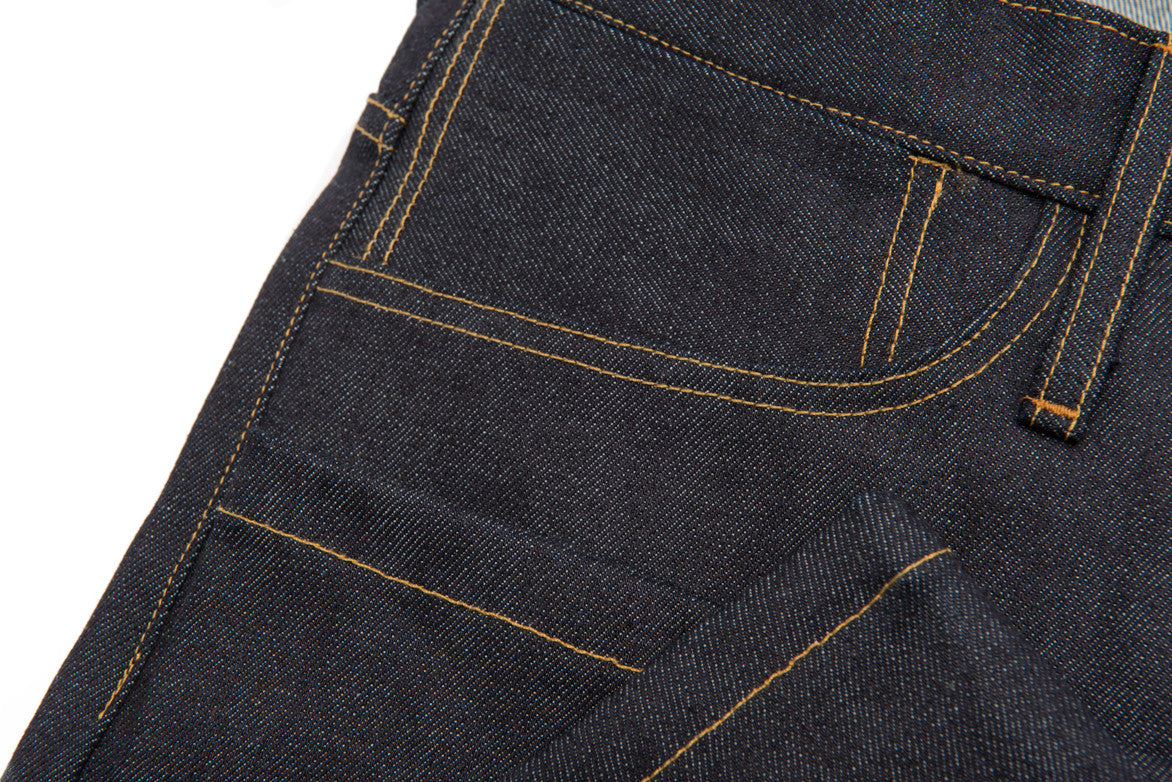 L&H x G+R 13 OZ JAPANESE TECH STRAIGHT - INDIGO