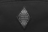 LAPSTONE 5 PANEL CAP - BLACK