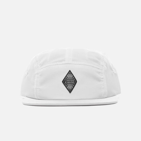 LAPSTONE 5 PANEL CAP - WHITE
