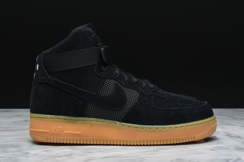 AIR FORCE 1 HIGH `07 LV8 - BLACK / GUM