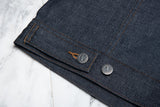 VESTE JEAN WORK JACKET - RAW INDIGO