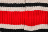 RETRO STRIPE SOCK - RED