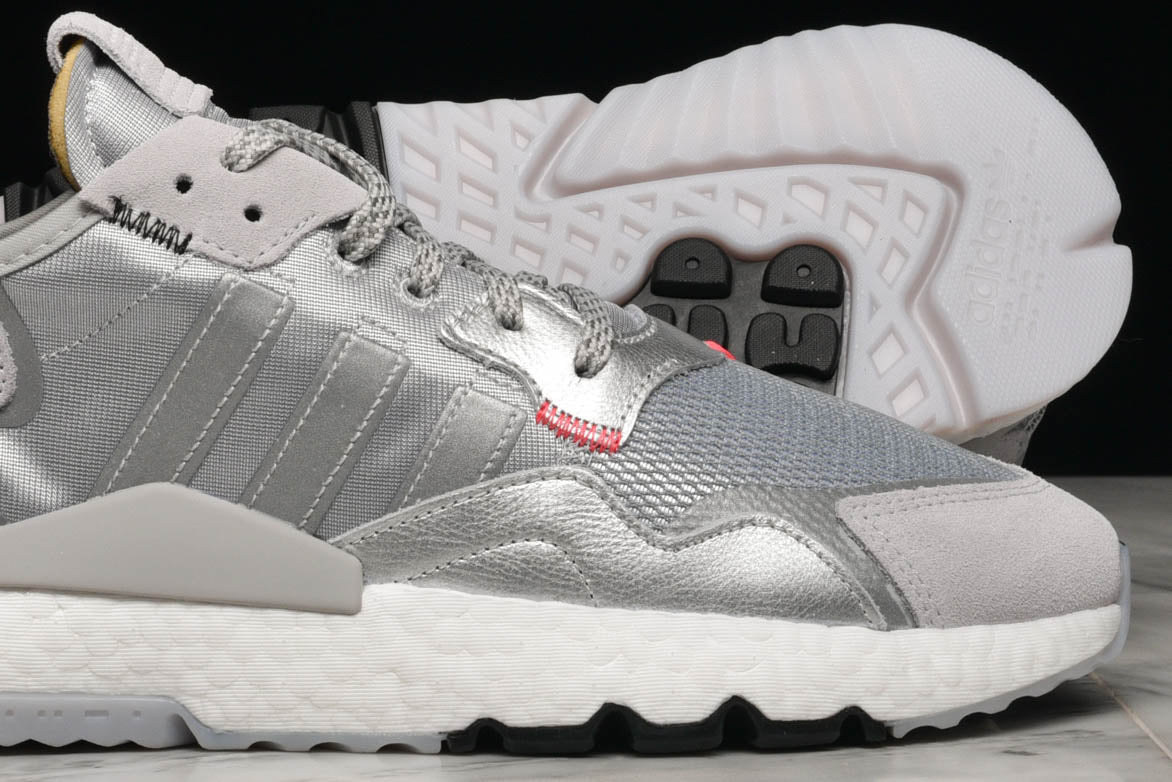 NITE JOGGER - SILVER METALLIC / LIGHT SOLID GREY