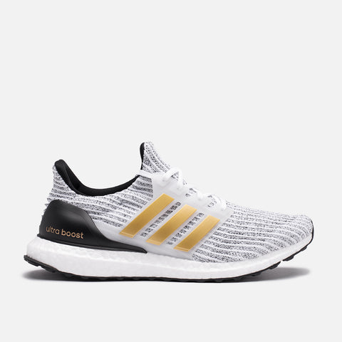 ULTRABOOST - WHITE / GOLD METALLIC