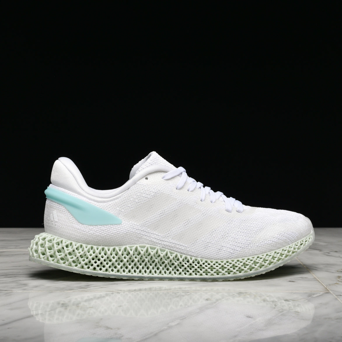 4D RUN 1.0 - CLOUD WHITE / BLUE SPIRIT
