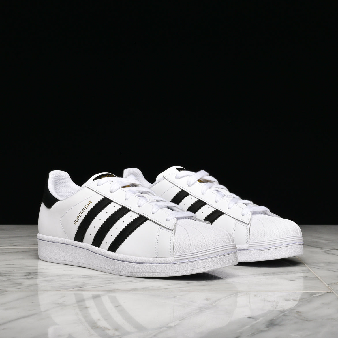 SUPERSTAR (GS) - WHITE / BLACK