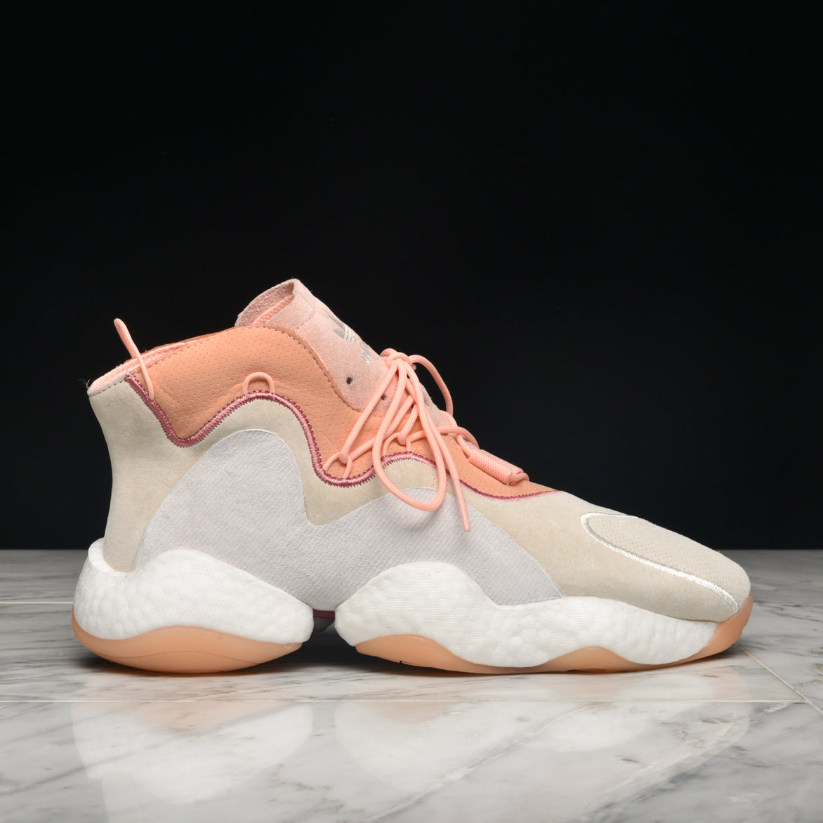 CRAZY BYW - CREAM WHITE / CLEAR ORANGE