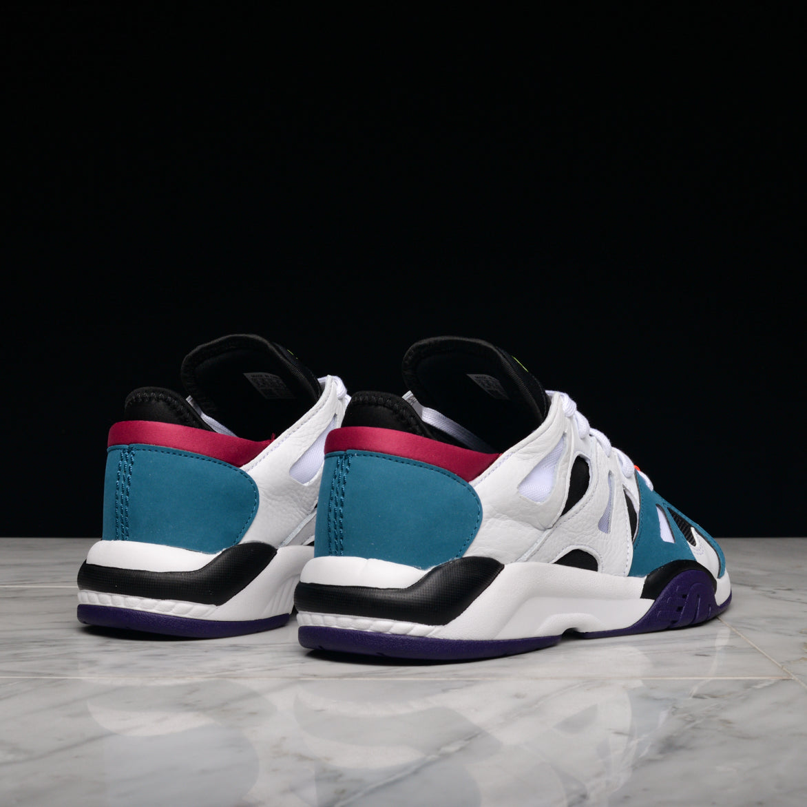 DIMENSION LOW - WHITE / BLACK / TEAL