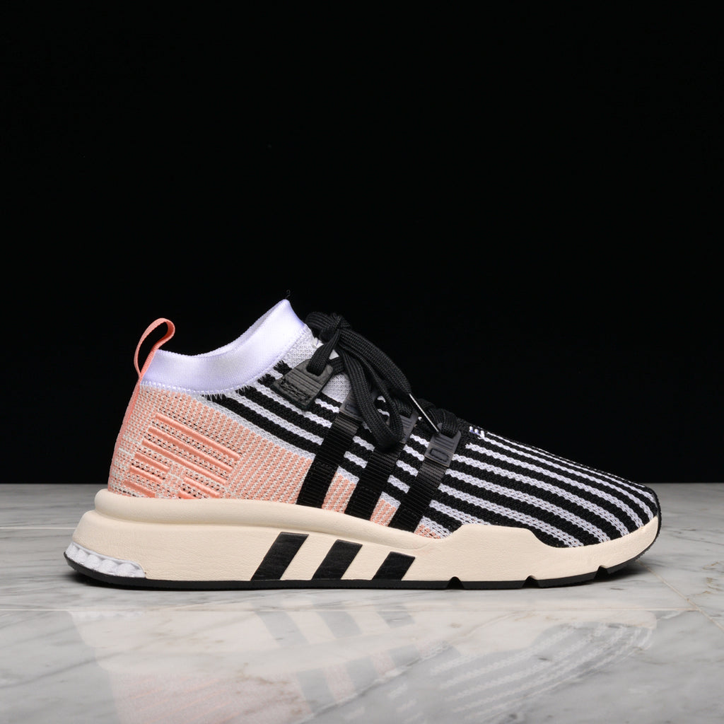 newest 161c3 50a0e EQT SUPPORT MID ADV PK - WHITE / BLACK /TRACE PINK