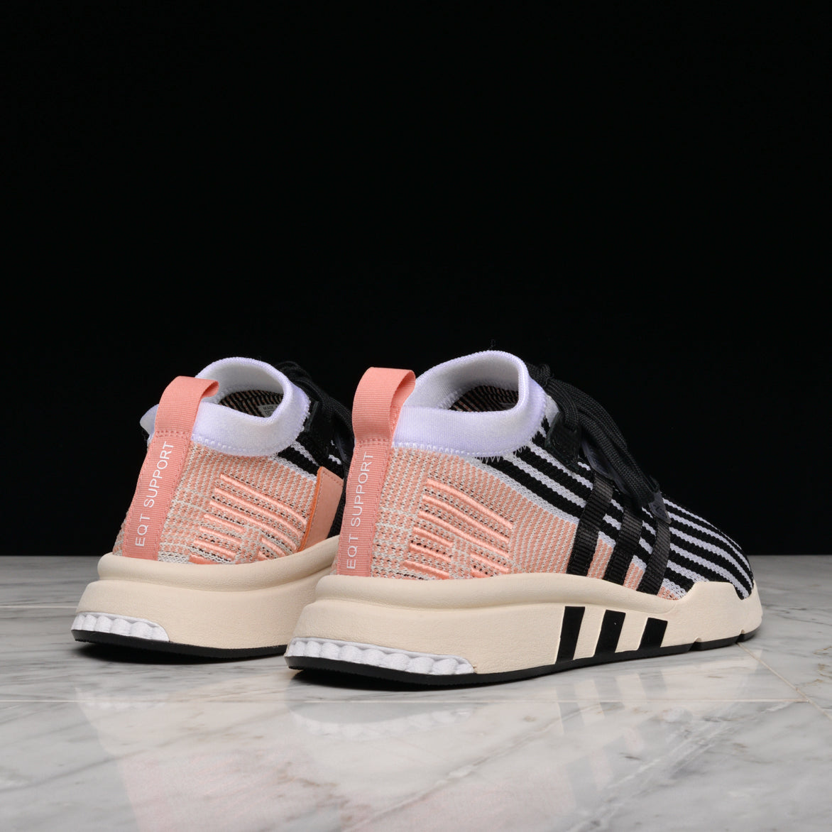 premium selection f931e f83e5 ... EQT SUPPORT MID ADV PK - WHITE  BLACK TRACE PINK ...