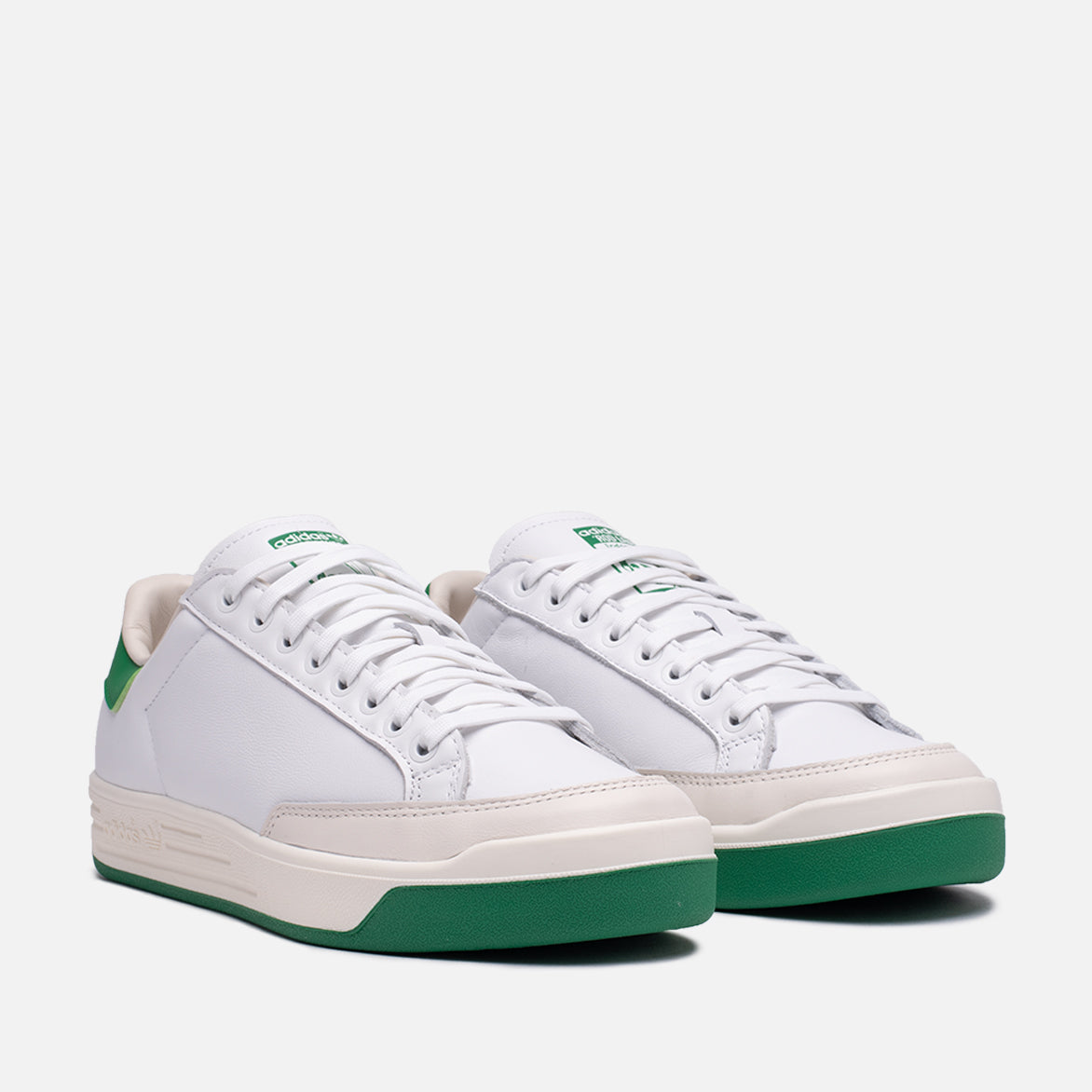 ROD LAVER LEATHER - CLOUD WHITE / GREEN