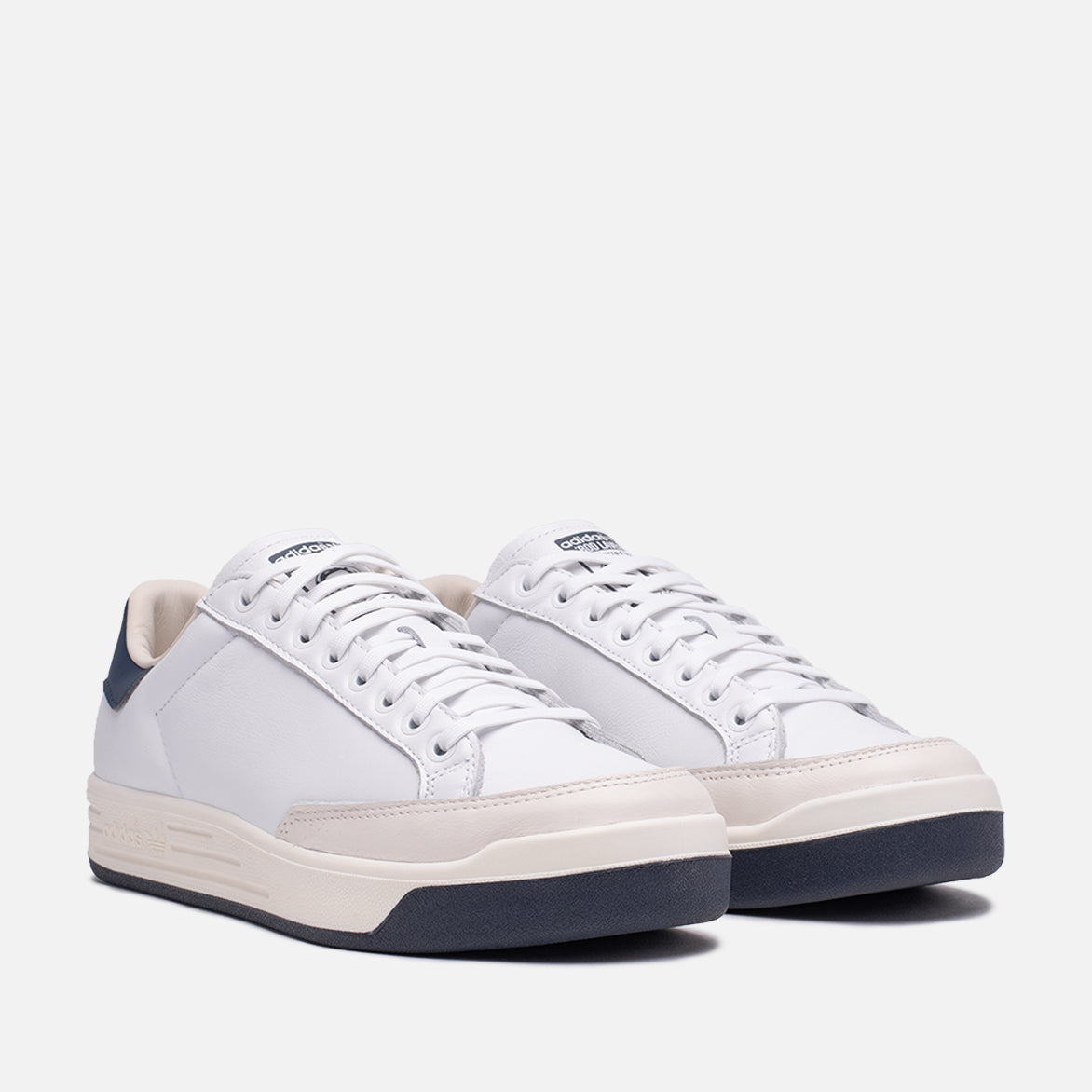 ROD LAVER LEATHER - CLOUD WHITE / COLLEGIATE NAVY