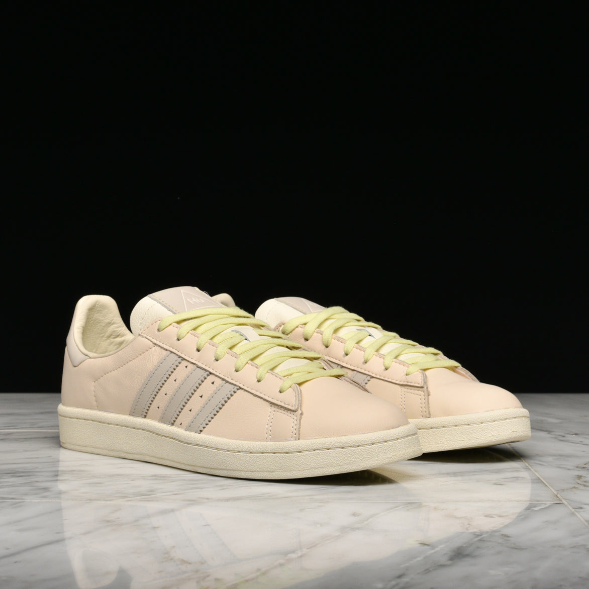 PHARRELL WILLIAMS X ADIDAS CAMPUS - ECRU TINT /CREAM WHITE / CLEAR BROWN