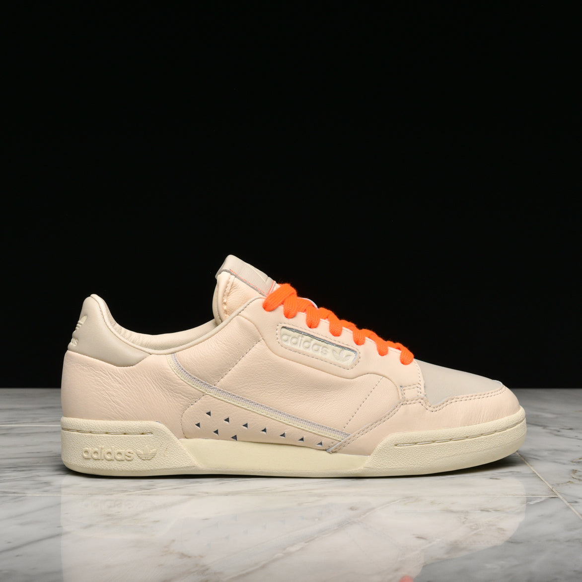 PHARRELL WILLIAMS X ADIDAS CONTINENTAL 80 - ECRU TINT / CREAM WHITE / CLEAR BROWN