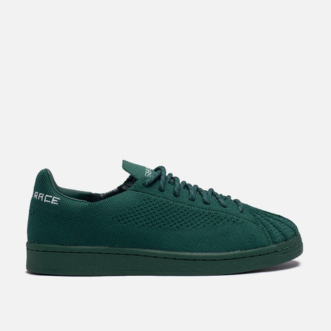 "PHARRELL X ADIDAS SUPERSTAR PRIMEKNIT ""HUMAN RACE"" - DARK GREEN"
