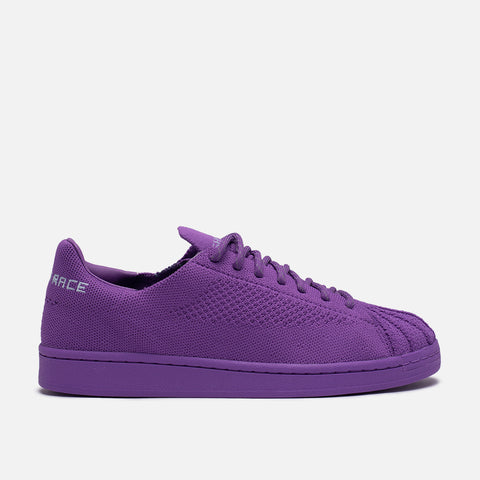 "PHARRELL X ADIDAS SUPERSTAR PRIMEKNIT ""HUMAN RACE"" - ACTION PURPLE"