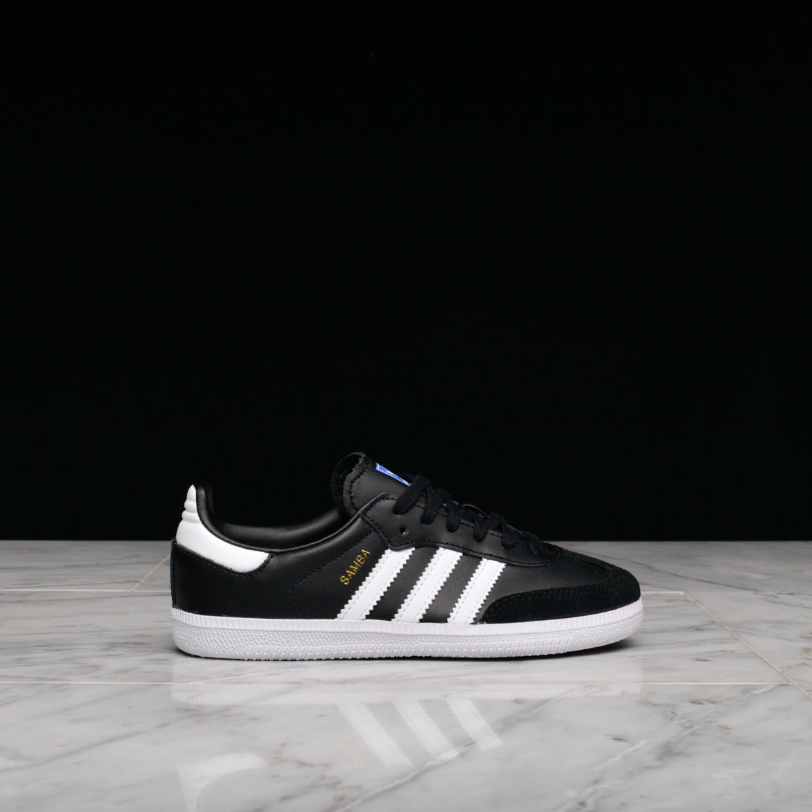 SAMBA OG (CHILD) - BLACK / WHITE