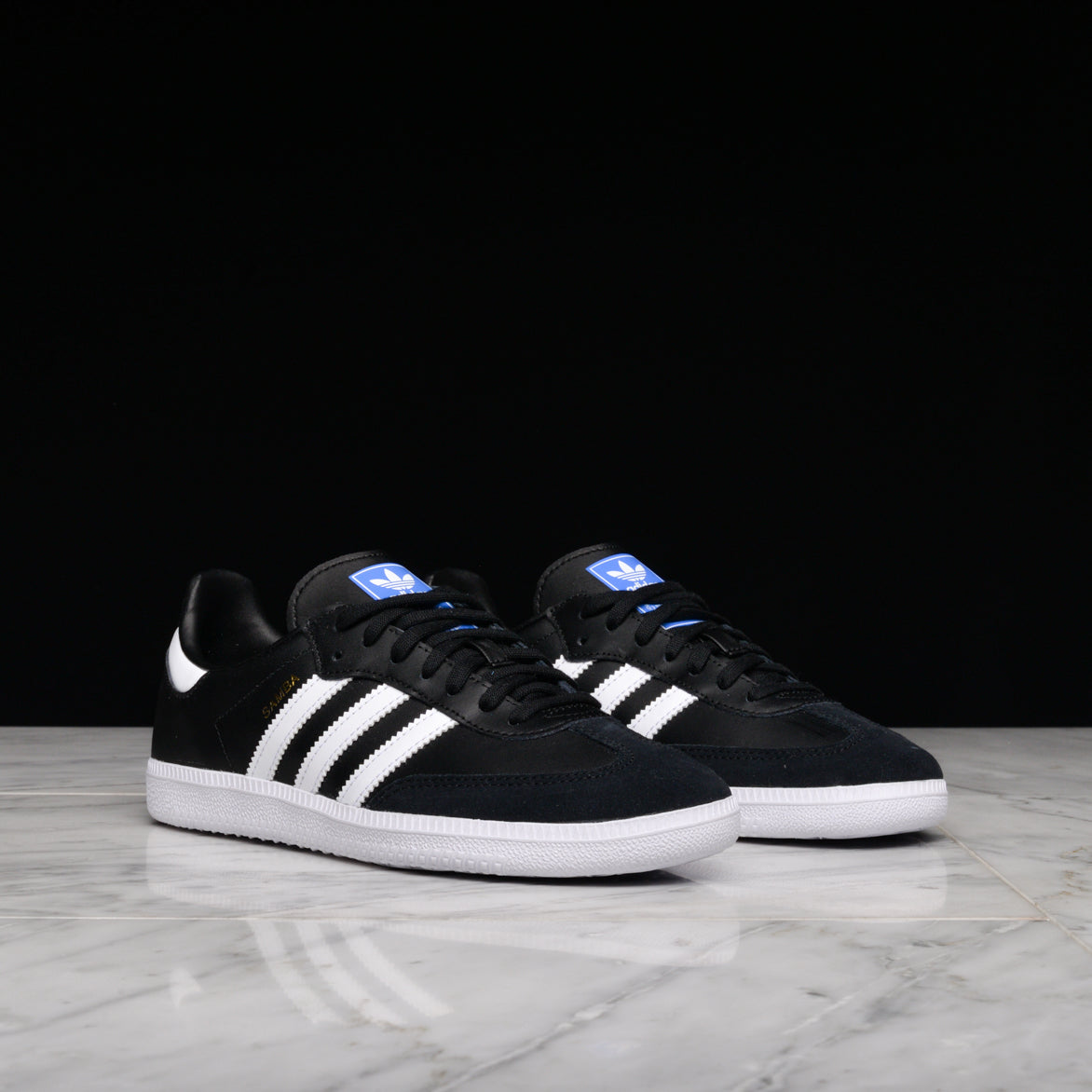 SAMBA OG (JUNIOR) - BLACK / WHITE