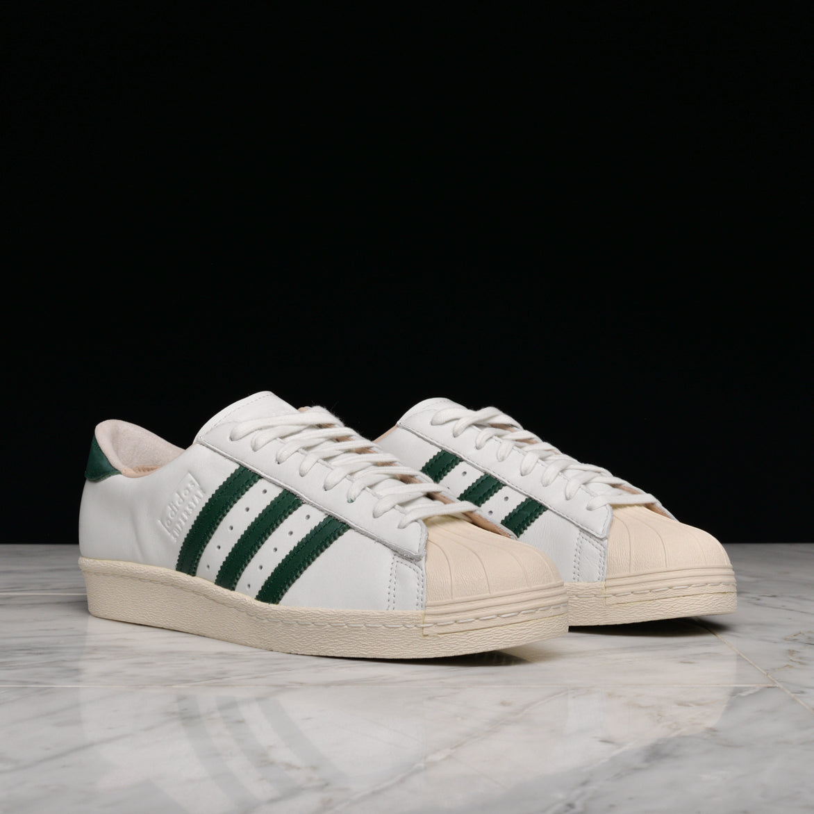 SUPERSTAR 80s RECON - WHITE / COLLEGIATE GREEN