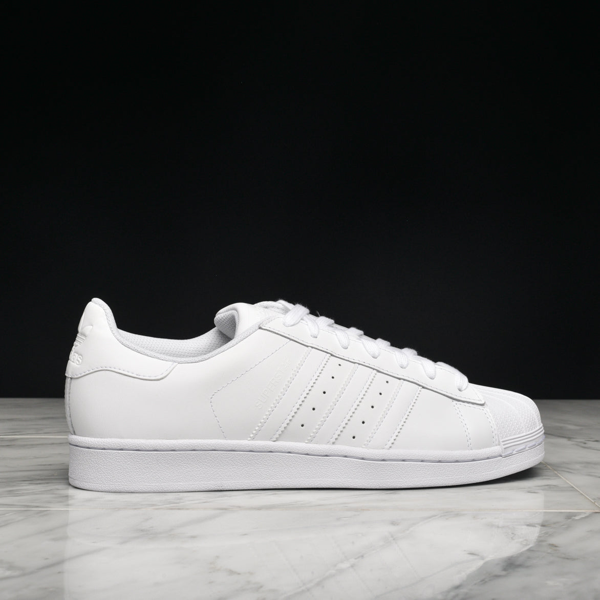 huge discount 448b0 17a05 SUPERSTAR FOUNDATION - WHITE / WHITE