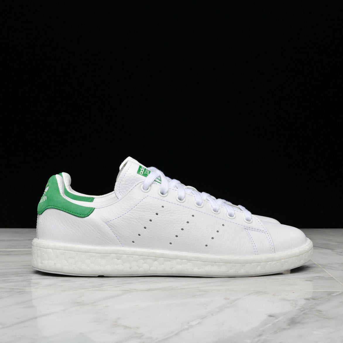 buy popular e9ba0 234c6 STAN SMITH BOOST - WHITE / GREEN