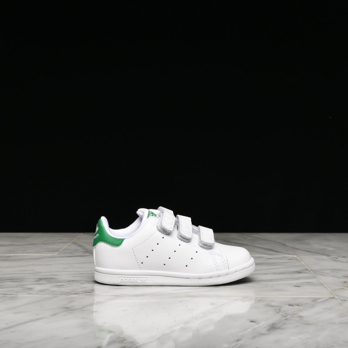 STAN SMITH VELCRO (TD) - WHITE / GREEN