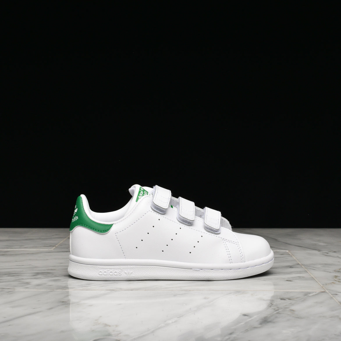 low cost 314b2 94361 STAN SMITH VELCRO (PS) - WHITE / GREEN