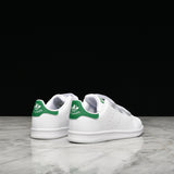 STAN SMITH VELCRO (PS) - WHITE / GREEN