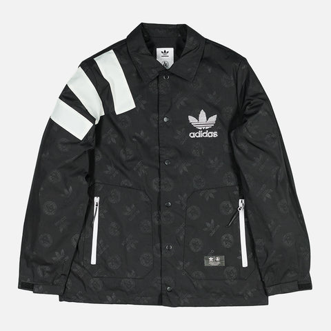 UNITED ARROWS & SONS X ADIDAS GAME JACKET - BLACK